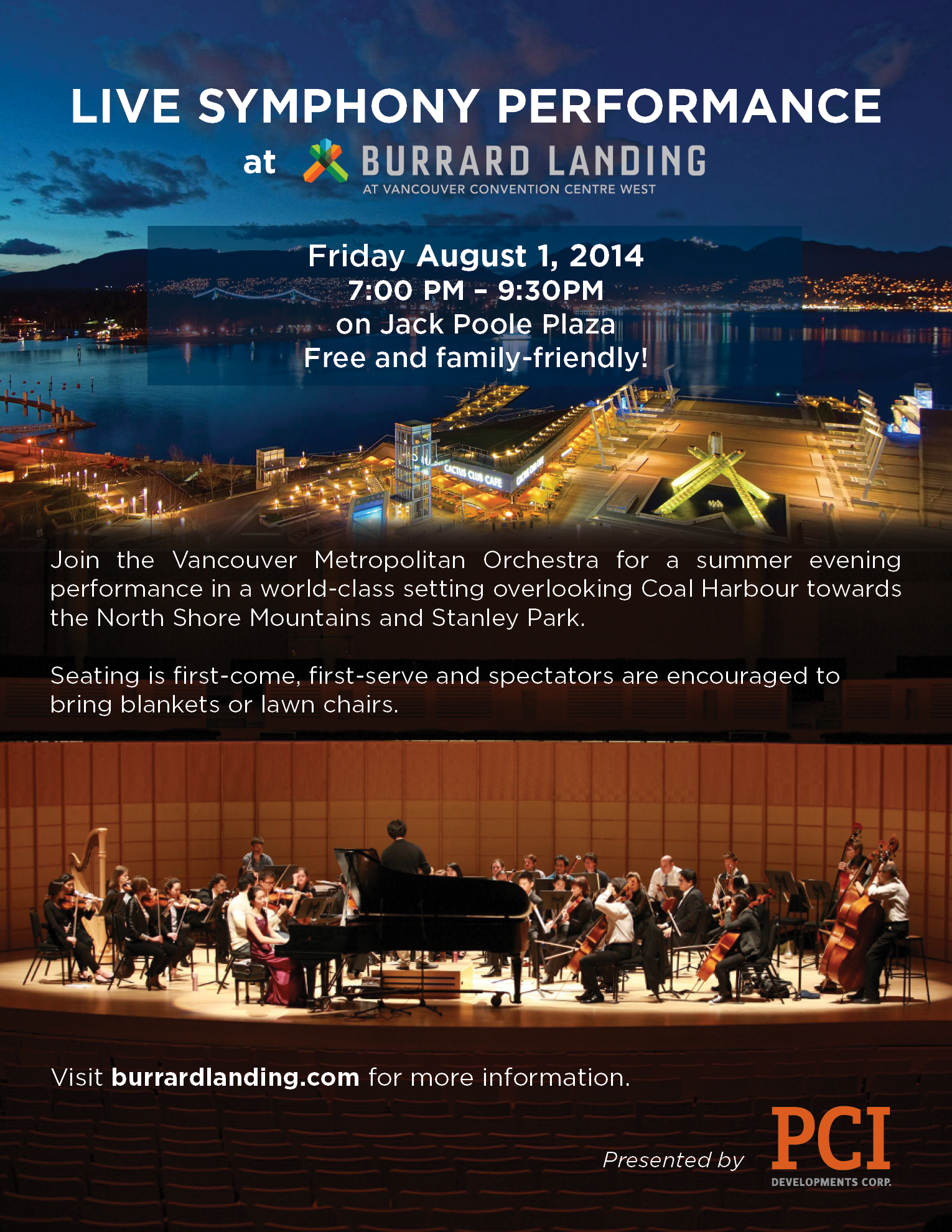 Symphony at Burrard Landing on Aug 1, 2014 HQ